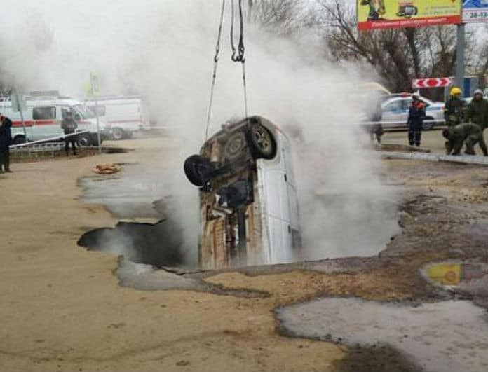 Φρίκη! Έπεσαν σε αγωγό καυτού νερού και κάηκαν ζωντανοί!