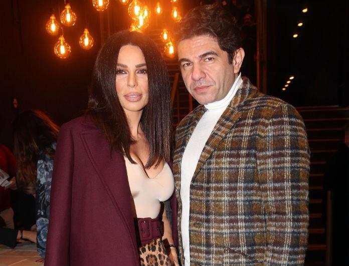 Κέλλυ Κελεκίδου - Νίκος Κουρκούλης: Σπάνια εμφάνιση για το ζευγάρι! Αγκαλιά μαζί στο θέατρο!