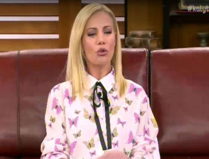 Ζέτα Μακρυπούλια: Αυτό το «κουραστικό» κάνει ο Χατζηγιάννης! Καμία γυναίκα δεν το αντέχει...