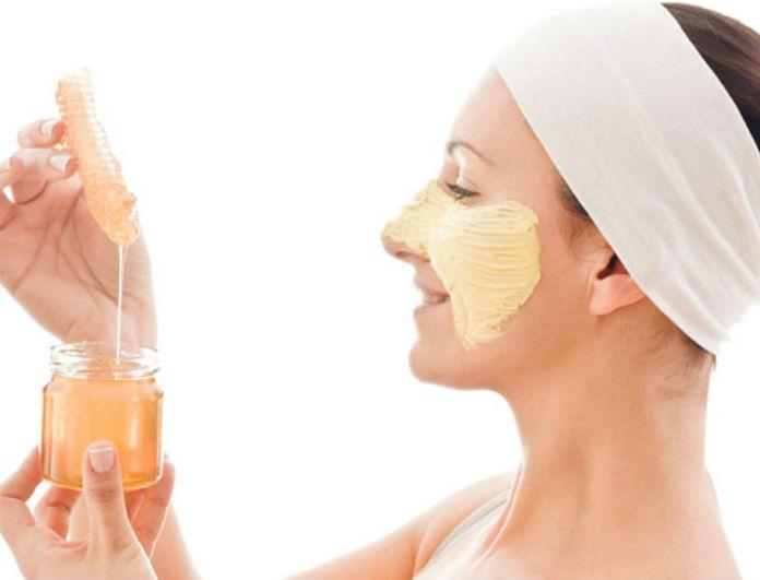 Μάσκα ομορφιάς με 3 θαυματουργά υλικά! Μέλι κανέλα και ελαιόλαδο!