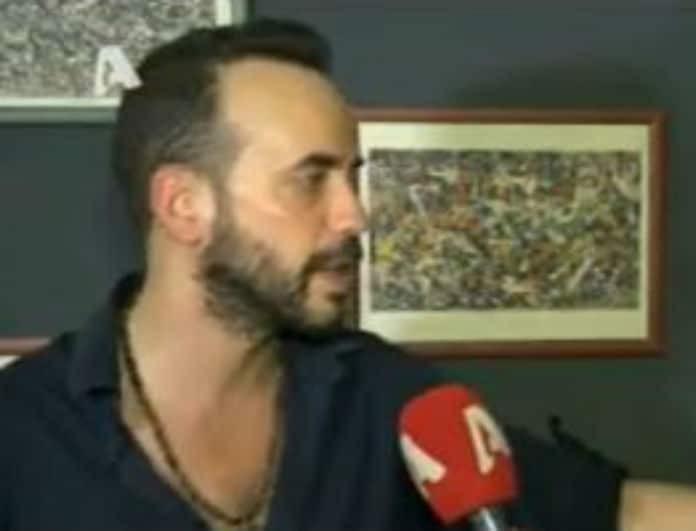 Πάνος Μουζουράκης: Έτσι αντέδρασε όταν τον ρώτησαν για τη νέα του σύντροφο! Δείτε το βίντεο...