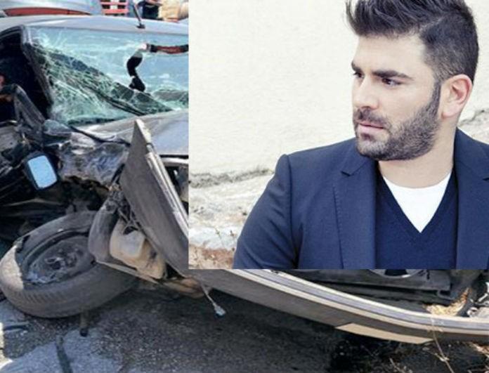 Παντελής Παντελίδης: Φωτογραφία από το τροχαίο για «λίγους»! Ο λεκές στο αμάξι προκαλεί ανατριχίλα....