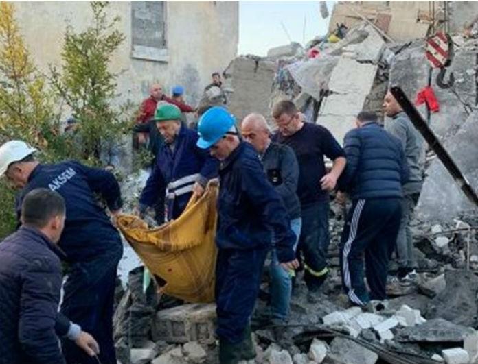 Σεισμός Αλβανία: Κηρύχθηκε ημέρα εθνικού πένθους! Μεγαλώνει η λίστα των νεκρών!
