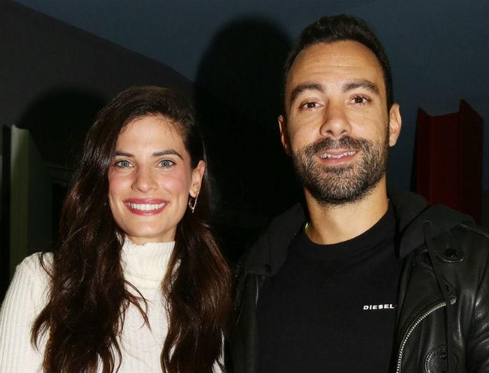 Σάκης Τανιμανίδης - Χριστίνα Μπόμπα: Το πιο ταιριαστό ζευγάρι! Ερωτευμένοι σε βραδινή έξοδο!