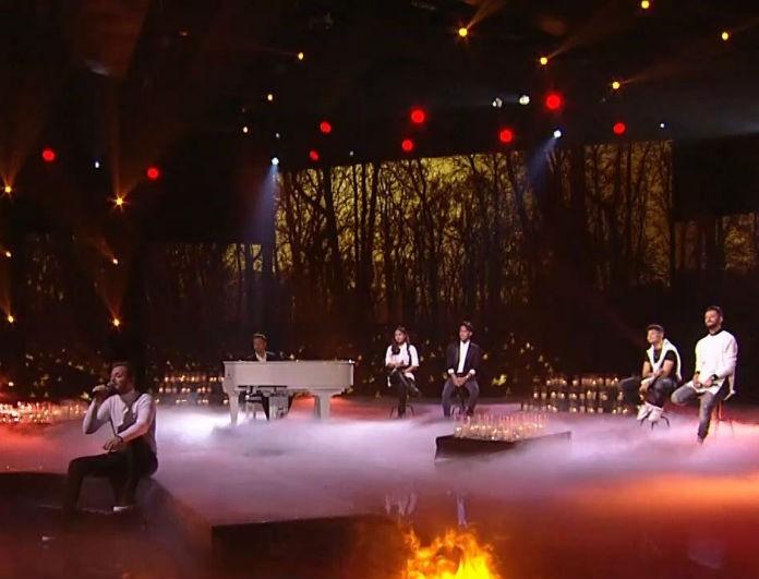 X-Factor: Ο Γιώργος Θεοφάνους ανέβηκε στην σκηνή και τα «έσπασε»! (Βίντεο)