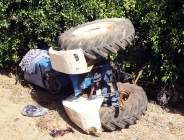Τραγωδία στην Κρήτη: Άνδρας καταπλακώθηκε από το τρακτέρ του!