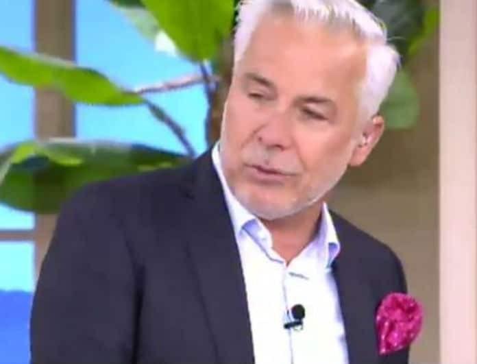 Χάρης Χριστόπουλος: Δάκρυσε στον αέρα του Happy Day! Ο θάνατος που τον