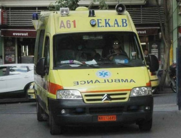 Τροχαίο σοκ στο Ηράκλειο! Ο οδηγός εγκλωβίστηκε μέσα στο αμάξι του!