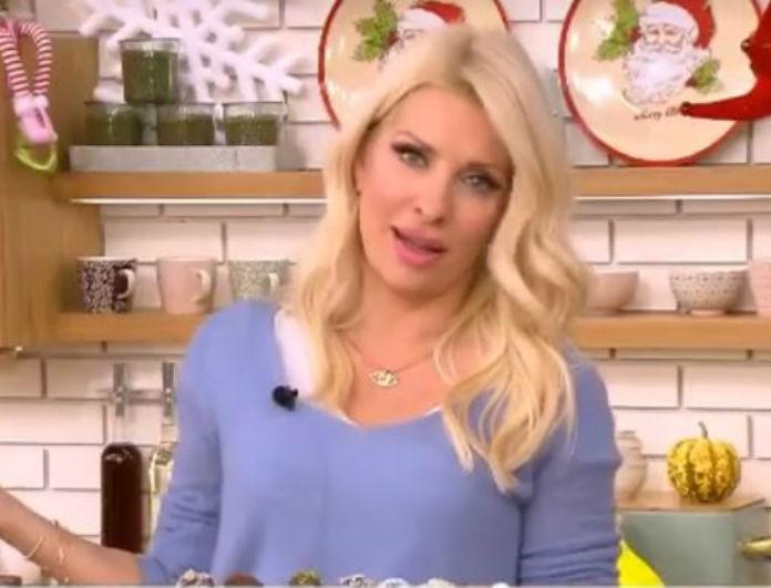 Ελένη: Μπήκε στην κουζίνα και άρχισε να ζυμώνει με τα χέρια της! Έκανε