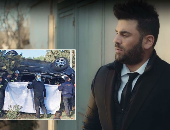 Παντελής Παντελίδης: Φωτογραφία από το τροχαίο που ανατριχιάζει! Βρέθηκαν ίχνη αίματος ακόμα και πάνω στο...