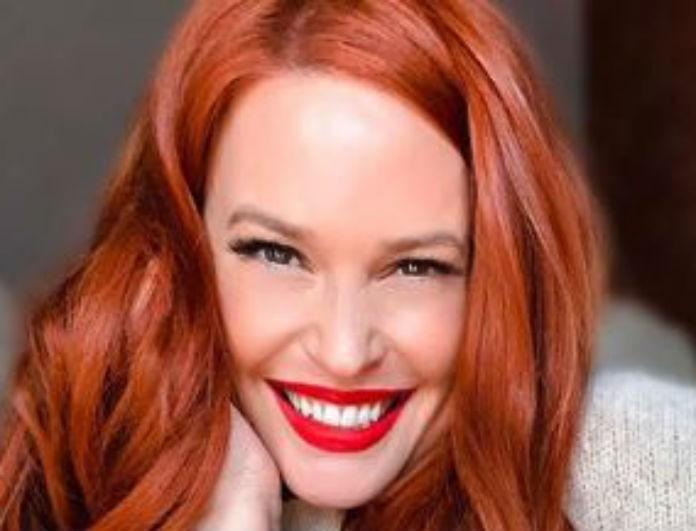 Σίσσυ Χρηστίδου: Έβαλε «χουχουλιάρικη» μπλούζα και όλοι κόλλησαν με το κραγιόν της! Ήταν κόκκινο, σαν τα μαλλιά της!