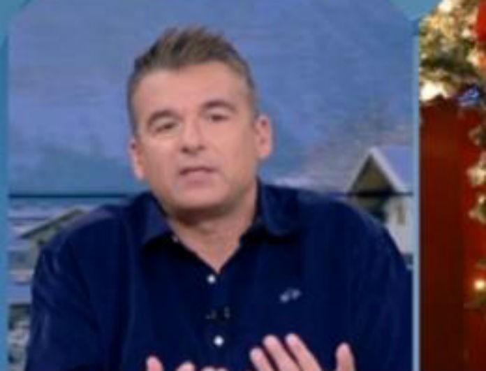Γιώργος Λιάγκας: «Ξέσπασε» στην εκπομπή - «Αυτό που είπε η γυναίκα...»!
