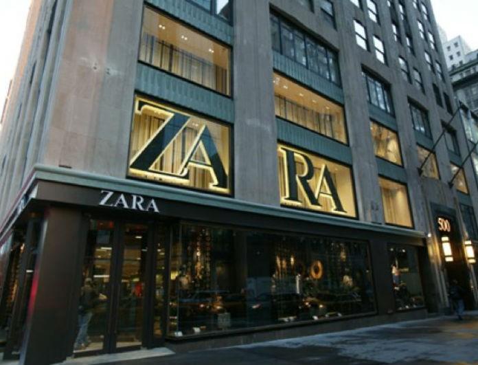 Zara - νέα συλλογή: Θα πάθεις την πλάκα σου με αυτό το μαύρο μίνι φόρεμα! Είναι από δέρμα...