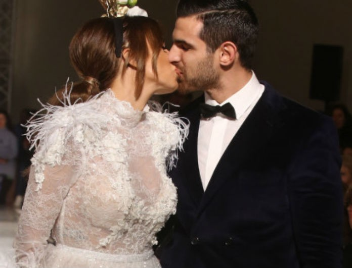 Ελένη Χατζίδου: Ντύθηκε νύφη στο πλευρό του Ετεοκλή Παύλου για δεύτερη φορά! Τους χειροκροτούσαν όλοι!