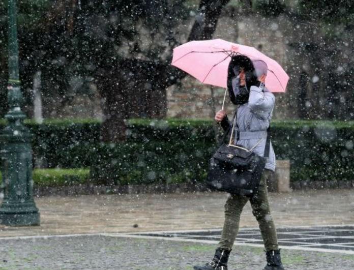 Καιρός σήμερα: Κρυστάλλινη βροχή και χιόνια! Ποιες περιοχές πρέπει να προσέχουν;