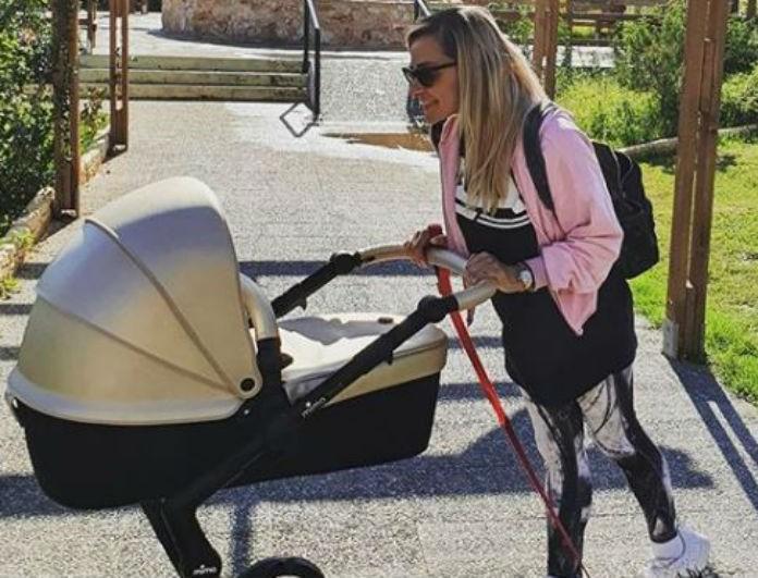 Βασιλική Μιλλούση: Μας δείχνει με μια φωτογραφία ότι η κόρη της ακολουθεί ήδη τα βήματα της!