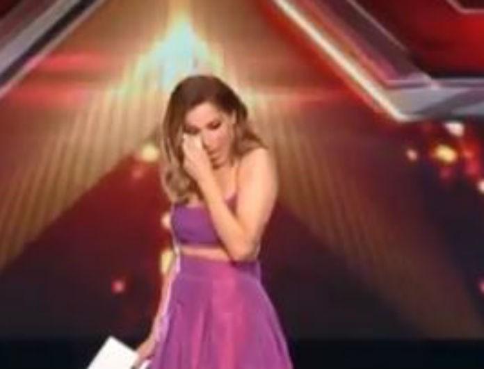 X-factor: Δάκρυσε στον αέρα η Δέσποινα Βανδή! Η αναφορά στην Ρούλα Κορομηλά...