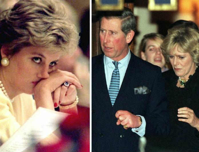 Την συζητούσε όλο το Buckingham! Η κίνηση απελπισίας της Diana για να μην της κλέψει η Camilla τον Κάρολο!