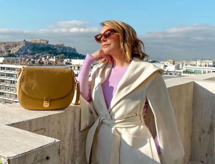 Τατιάνα Στεφανίδου: Κράτησε το χέρι του έρωτα τη ζωής της! Κοίταζε την Ακρόπολη με την καλύτερη παρέα!