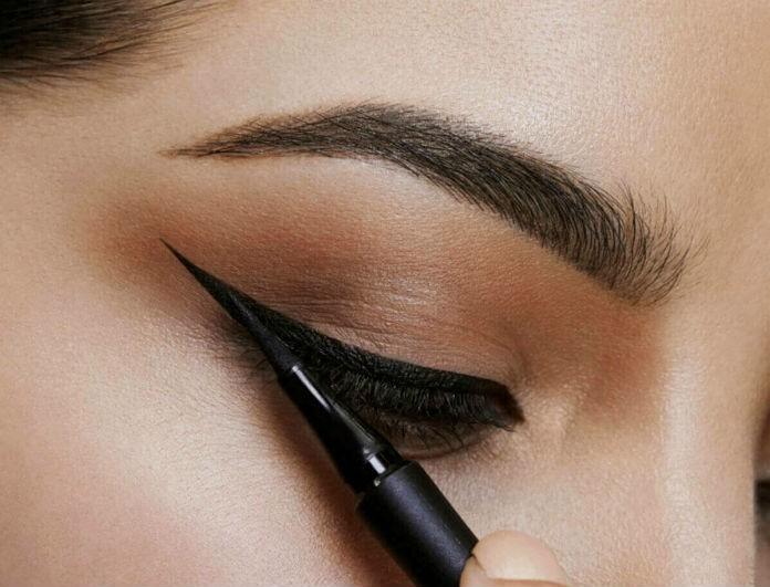 5+1 μυστικά για να σχεδιάσεις σωστά το eyeliner!