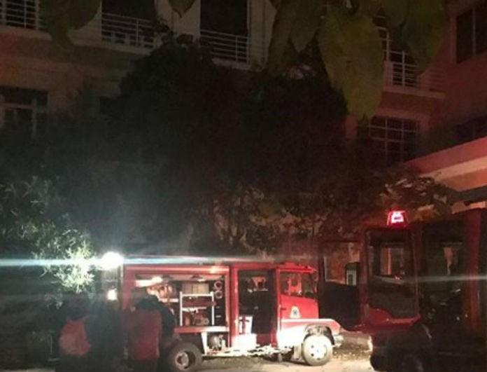 Θεσσαλονίκη: Ξέσπασε φωτιά σε κτήριο! Από τι προκλήθηκε;