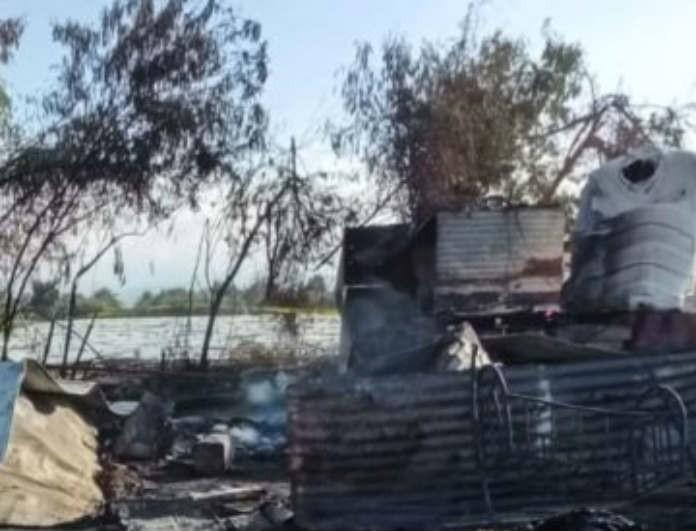 Τραγωδία: Ξέσπασε μεγάλη φωτιά σε παράγκα! 13 οι νεκροί! Τι συνέβη;