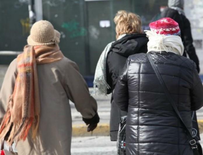 Καιρός σήμερα: Έρχεται τσουχτερό κρύο! Ποιες περιοχές θα... παγώσουν;