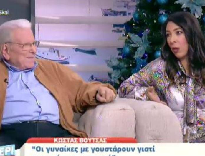 Αλίκη Κατσαβού: Το σχόλιο για την διαφορά ηλικίας με τον Κώστα Βουτσά - «Καταλαβαίνω το ανορθόδοξο αλλά...»!
