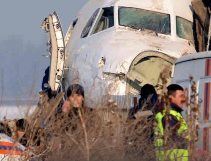 Τραγωδία στο Καζακστάν: Ραγδαίες εξελίξεις με το αεροσκάφος! Έτσι κόπηκε στα δύο!