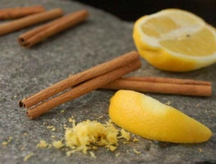 Βάλε κανέλα σε χυμό λεμονιού, άπλωσε το στο πρόσωπο σου και η ζωή σου θα αλλάξει για πάντα!