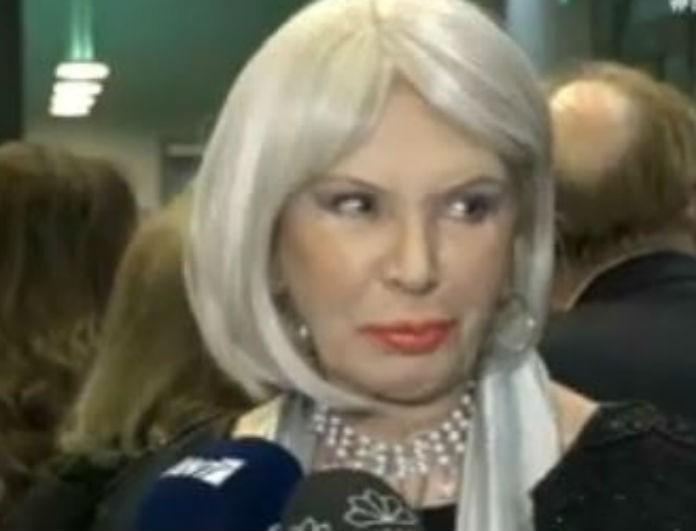 Ρίκα Διαλυνά: Σοκαριστική αποκάλυψη από την ηθοποιό!