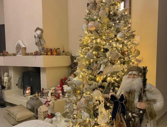 Γνωστή Ελληνίδα παρουσιάστρια έκανε την πιο εντυπωσιακή Χριστουγεννιάτικη διακόσμηση!