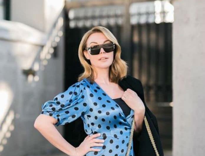 Τατιάνα Στεφανίδου: Έβαλε φόρεμα από βελούδο με άνοιγμα στο πόδι! Το μαύρο πέδιλο με λουράκια έφερε «πανικό»!