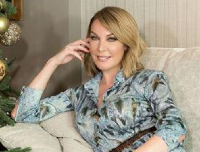 Τατιάνα Στεφανίδου: Έκατσε σε εντυπωσιακό καναπέ, όμως όλοι κοιτούσαν τις γόβες της! Έχουν σχέδιο που... αναστατώνει!