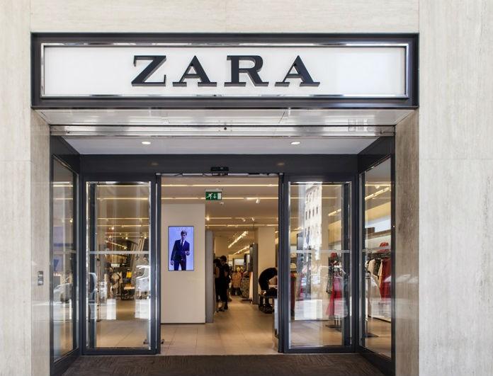 Εθισμός με αυτό το πανωφόρι από τα Zara! Είναι από τη νέα συλλογή κι έχει το χρώμα του πάγου!