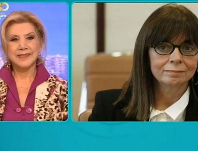Λίτσα Πατέρα: Κι όμως! Είχε προβλέψει στο Πρωινό γυναίκα για Πρόεδρο της Δημοκρατίας!