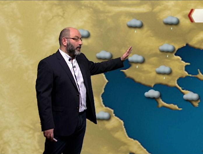 Σάκης Αρναούτογλου: Για 4 μέρες ανάστατος ο καιρός! Ποιες περιοχές θα