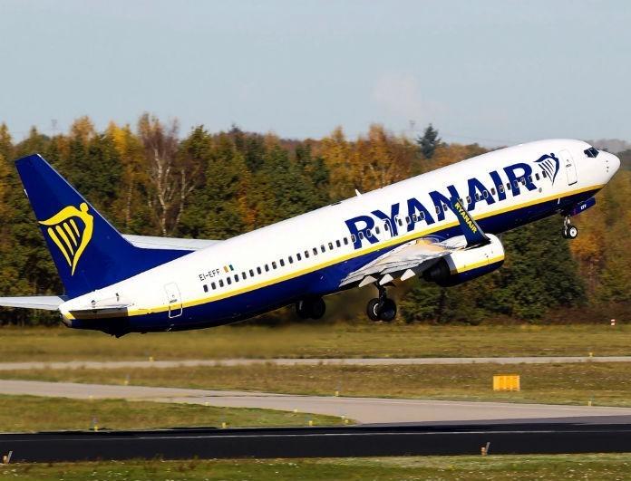 Ryanair: Απίστευτη προσφορά! Προλάβετε έκπτωση 25% στα εισιτήρια σας!