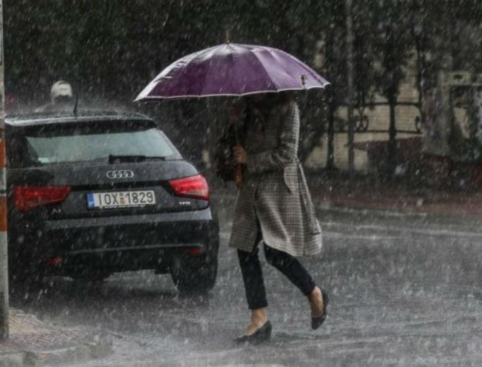 Καιρός: Έρχονται ισχυρές βροχές, καταιγίδες και χαλάζι