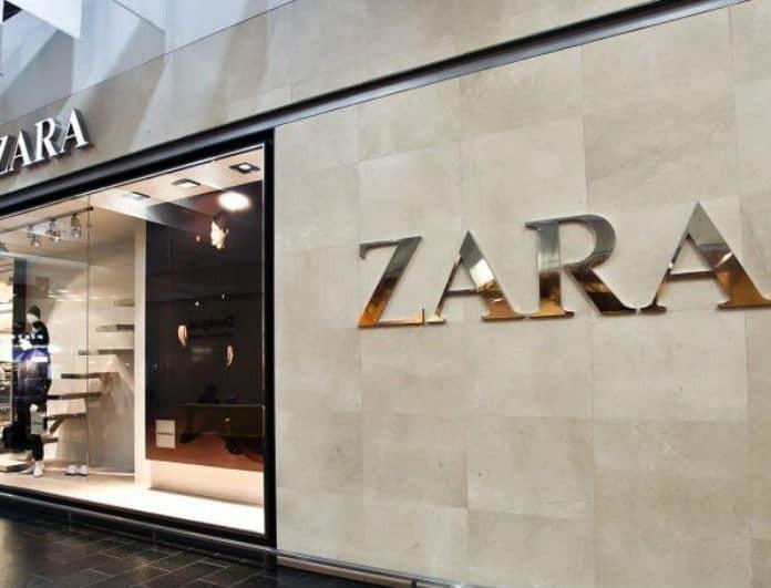 Zara: Η φούστα αυτή είναι πράσινη και από δέρμα!