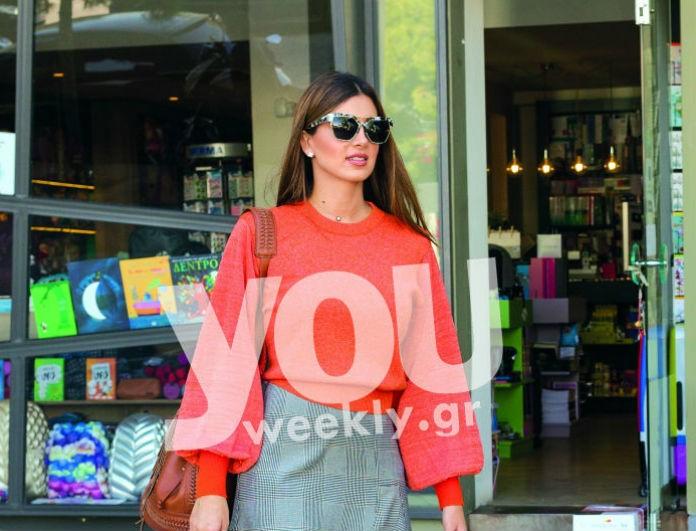 Σταματίνα Τσιμτσιλή: Η φούστα της είναι από δαντέλα και κάνει πάταγο! Πόσο κοστίζει και πού μπορείς να την βρεις;