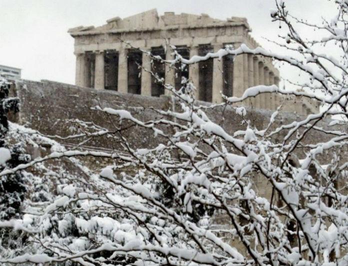 Καιρός: Έρχεται βαρύς χιονιάς στην Αττική! Πού θα