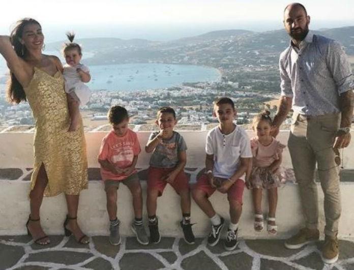 Ολυμπία Χοψονίδου: Το παιδί της το λένε Βασίλη αλλά δεν το πήρε από τον Σπανούλη! Το μυστικό πίσω από το όνομά του!