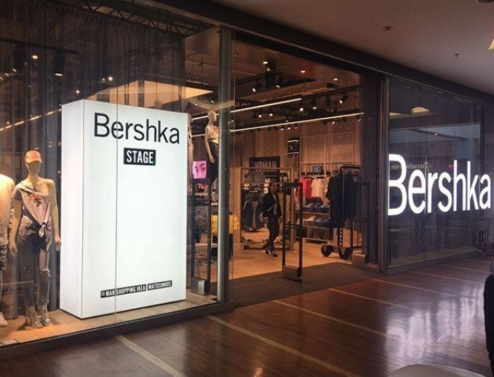 Bershka: Το μαύρο τοπ είναι από δέρμα και φουσκώνει στα μανίκια! Κοντεύει να ξεπουλήσει!