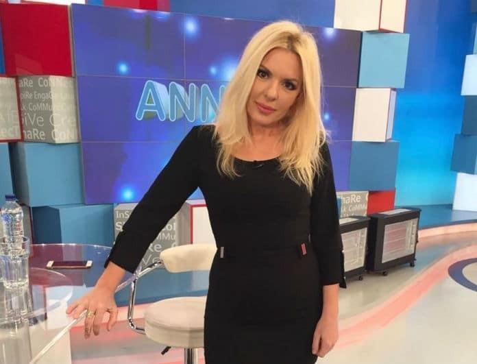 Αννίτα Πάνια: Πόσα κιλά ζυγίζει; Αυτό το νούμερο λέει η ζυγαριά της...