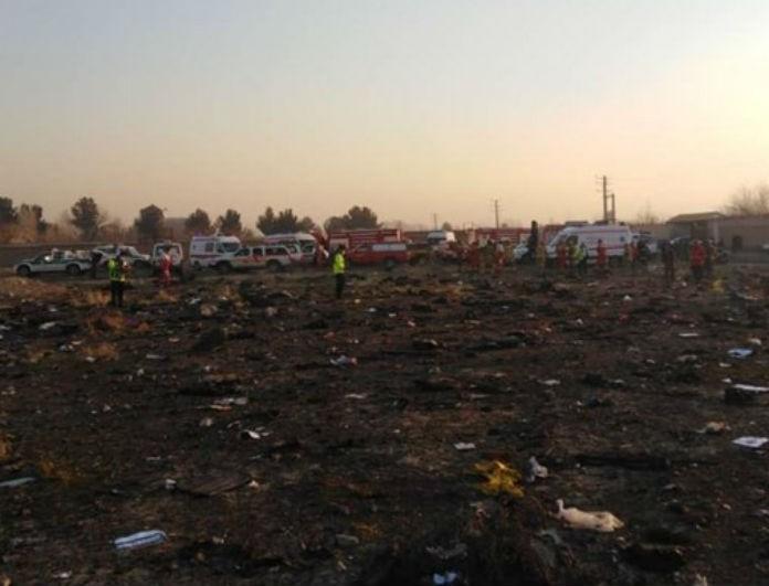 Αεροπορική τραγωδία στο Ιράν: Βρέθηκε το μαύρο κουτί!