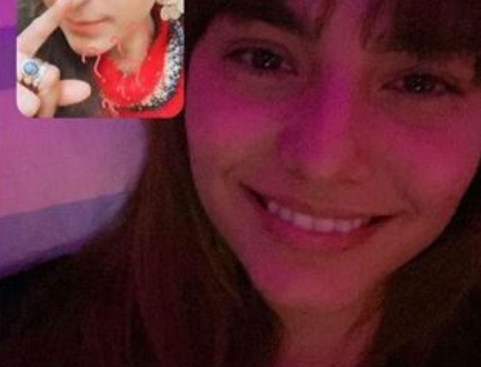 Ηλιάνα Παπαγεωργίου: Ξάπλωσε στο κρεβάτι της και έκανε βίντεοκλήση! Δεν μιλούσε με τον Snik αλλά με την κολλητή της!