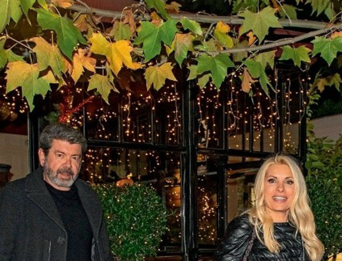 Ελένη Μενεγάκη: Την «τσάκωσαν» με τον Γιάννη Λάτσιο και η προσοχή έπεσε στο μπουφάν της! Κοστίζει περίπου 820 ευρώ!
