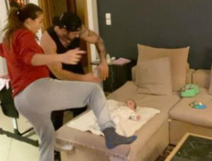Ελένη Χατζίδου - Ετεοκλής Παύλου: Το μωρό έκλαιγε και εκείνοι χόρευαν ασταμάτητα! Το