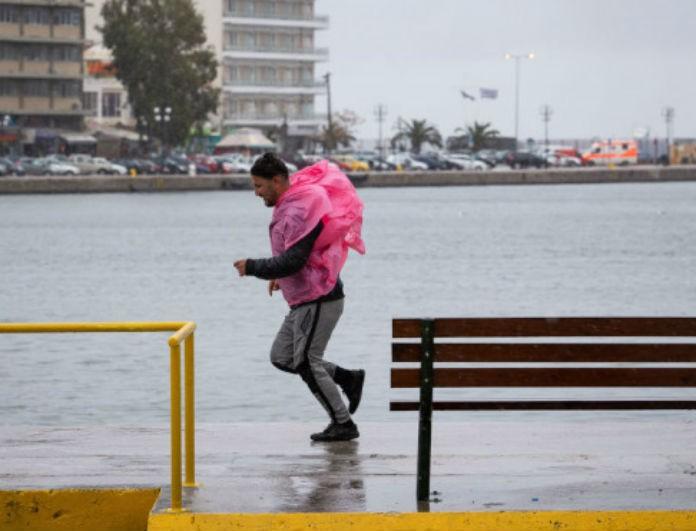 Καιρός: Συνεχίζονται οι άνεμοι, οι βροχές και οι ασθενείς χιονοπτώσεις!